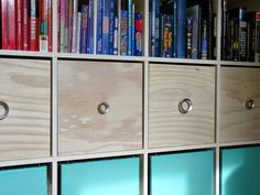 Dans le Lakehouse: DIY Plywood Magazine Files for IKEA Expedit