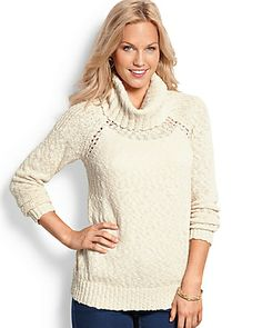 Tommy Bahama - Windsor Cowl-Neck Sweater  $118 3 color options (NO WISHLIST OPTION)