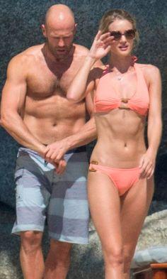 Rosie Huntington-Whiteley and Jason Statham Heat Up the Beach in Thailand