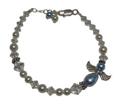 Loss of Father Sympathy Gift Condolence Angel Bracelet ** See this great product.