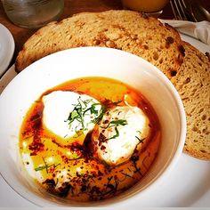 Cılbır, Turkid eggs