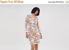 Check out SALE Printed Tailored dress on annakshop Indie Fashion, Slow Fashion, Fashion Trends, Indie Outfits, Casual Outfits, Dresses For Sale, Dress Sale, Trending Outfits, My Style