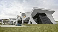 Rest Stop in Georgia by J. Mayer H  Pic: From Dezeen