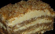 Retete Culinare - Prajitura cu nuca caramelizata