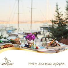 Baküs Restaurant & Bar'ın muazzam atmosferi size eşlik ederken yerel ve ulusal tatları keşfe çıkın.