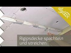 Rigipsdecke spachteln - Anleitung & Tipps @ diybook.at