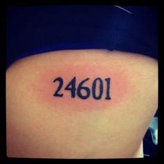 Les Misérables tattoo