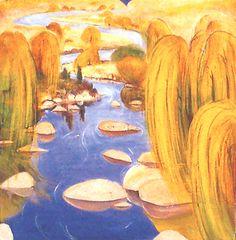 Willows At Carcoar 1978 - Brett Whiteley