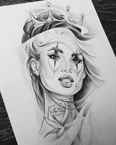 Tattoo Ideas Leg Female Style 67 New Ideas Ozzy Tattoo, Arm Tattoo, Sleeve Tattoos, Chicano Art Tattoos, Body Art Tattoos, Diadem Tattoo, Tattoo Sketches, Tattoo Drawings, Marilyn Monroe Artwork