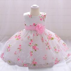 Aliexpress Baby Summer Dresses, Baby Girl Party Dresses, Dresses Kids Girl, Girl Outfits, Summer Baby, Children Dress, Newborn Girl Dresses, Newborn Outfits, Flower Girls