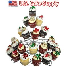 41-Count Light-weight 5-Tier Metal Dessert and Cupcake Stand U.S. Cake Supply http://www.amazon.com/dp/B008YZ7TXO/ref=cm_sw_r_pi_dp_Tewyvb1M6FZEM