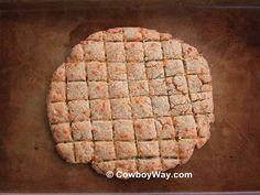Baked cat treats #homemade #baked #cattreats
