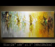 Pared pintura expresionismo abstracta Textured por xiangwuchen