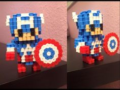 A few of you have asked for a Captain America figurine, so HERE YA GO! Enjoy it, friends.