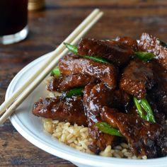 30-Minute Mongolian Beef (PF Changs copycat recipe)