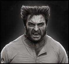 3D Wolverine