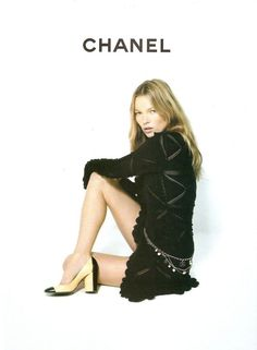 Kate Moss for Chanel