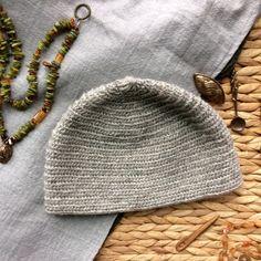 Grey Nalbinding Hat Naalbinding Viking Norse by BoneandBirchNW