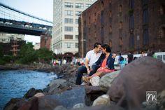 NY Wedding Photography: Danielle & Will – Brooklyn Engagement Photos