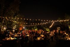 Our awesome lighting. Turned out amazing.  Photo: MatthewNigel.com