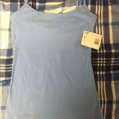 ⬇️♨️Brand New with Tags-Tank Top with Built in Bra Blue Tank Top with Built in Bra  Route 66   **Brand New with Tags**  Size XS  **Perfect for summer** Route 66 Tops Tank Tops