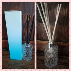 These stunning jars come with either black or natural reeds. Approx 180ml. All come gift boxed as pictured.  Available in limited fragrances. All fragrances are listed in the notes section of the Windyhaze Creations Facebook page Soy Wax Candles, Fragrances, Diffuser, Jars, Artisan, Notes, Facebook, Natural, Gifts
