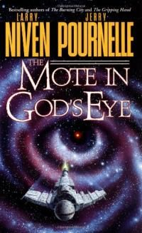 Larry Niven & Jerry Pournelle - The Mote in God's Eye - easily in the top 5 best sci-fi novels ever written. Sci Fi Novels, Fiction Novels, Pulp Fiction, Lois Mcmaster Bujold, Hard Science Fiction, Science Art, Larry Niven, Classic Sci Fi Books, Gods Eye