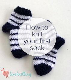 FREE tutorial - How to knit your first sock - LoveKnitting blog