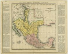39 Best Historic maps of Texas and Mexico images