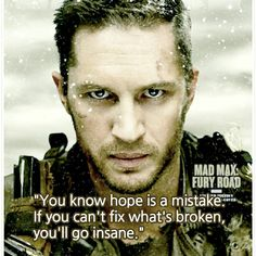 Mad max fury road hope is a mistake