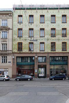 Max Fabiani - Wohn- und GeschäftshausPortois & Fix, Wien