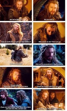 i love kilis face when fili says there must be a door, he's all like woah... there totally must be o.O