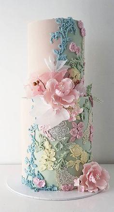 pretty wedding cake 2020, unique wedding cake designs, wedding cake designs 2020, modern wedding cake designs, wedding cake designs, wedding cakes, wedding cake trends #weddingcakes