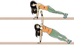 no crunch core workout