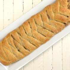 It's hard to believe, but we're entering apple-picking season! Time to break out ALL the best fall treats, like this awesome, easy Braided Apple Walnut Strudel!