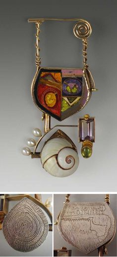 The Enamel Arts Foundation - Collection William Harper enamels, oh my!