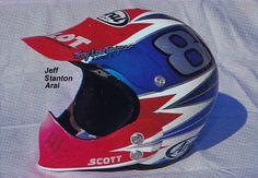 1988 Troy Lee Designs Arai helmet of Jeff Stanton   Flickr - Photo Sharing!