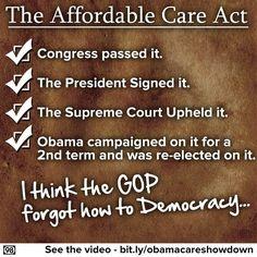 """Obamacare"""