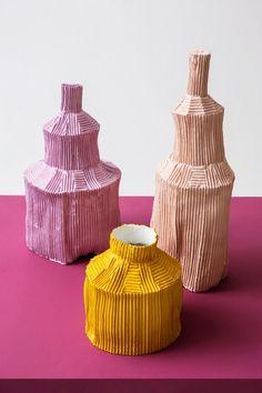 The Top 10 Finds at Maison & Objet 2017 – Ceramic Art, Ceramic Pottery Glass Ceramic, Ceramic Clay, Ceramic Pottery, Pottery Art, Slab Pottery, Pottery Studio, Ceramic Bowls, Keramik Design, Keramik Vase