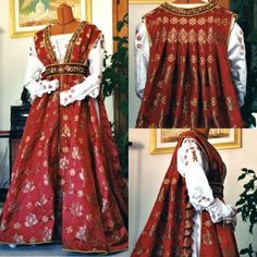 1400s wedding dresses