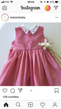 53 Trendy classic children clothes little girls Frocks For Girls, Little Girl Dresses, Girls Dresses, Frocks And Gowns, Dress Anak, Sewing Baby Clothes, Girl Dress Patterns, Frock Design, Simple Dresses