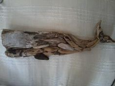 driftwood whale key holder