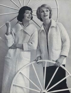 Classic Pullover Cardigan Skirt crochet pattern booklet NEW Cotton Separates