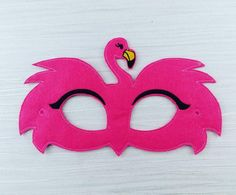 Arts And Crafts Hobbies That Make Money Flamingo Craft, Pink Flamingo Party, Flamingo Birthday, Pink Flamingos, Unicorn Mask, Halloween Celebration, Animal Masks, Tropical Party, Mask Party