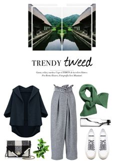 """""""Tweed"""" by kelly-m-o ❤ liked on Polyvore featuring STELLA McCARTNEY, Tory Burch, Yves Saint Laurent, women's clothing, women, female, woman, misses and juniors"""