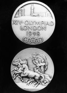 London Olympics medal from 1948