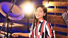 Beyond - Hai Kuo Tian Kong 海阔天空 Drum Cover by Nur Amira Syahira Drums Girl, Girl Drummer, Drum Cover, 14 Year Old, Sexy, Music, Youtube, Model, Travel