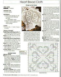 Picasa Web Albums. Filet crochet bread cloth