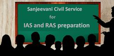 Are you looking the Best IAS and RAS Coaching institute in jaipur? It's really hard to find out the best IAS and RAS coaching institute for preparation in jaipur but Sanjeevani Civil Service Guidance Academy provide the best IAS and RAS coaching classes and guide line.  Sanjeevani Civil Service is the awesome institute to fight the IAS and RAS exam.