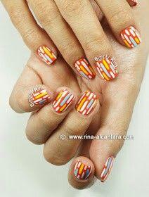 Great nail design from rina-alcantara.com